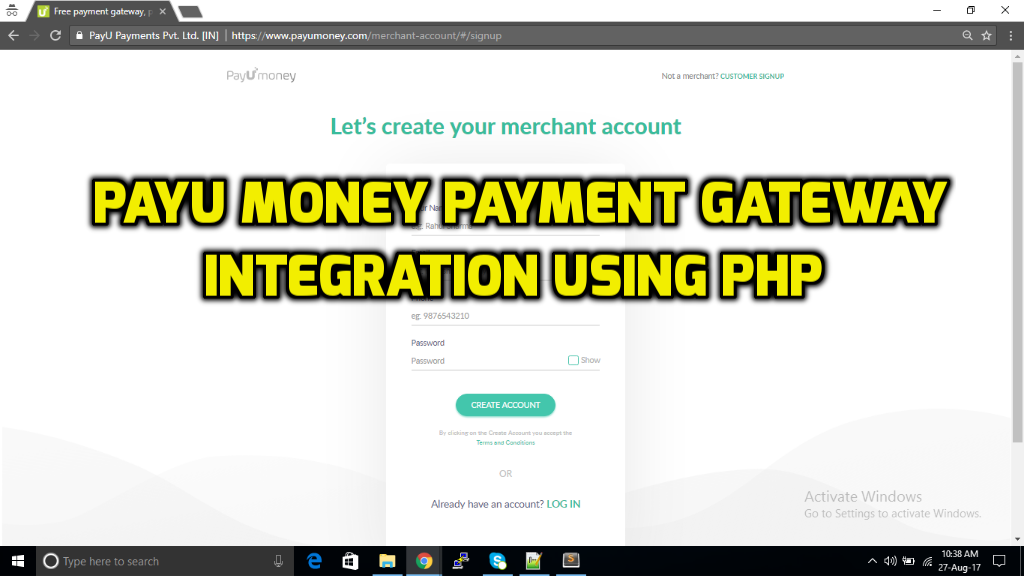 How To Integrate Payu Money Payment Gateway Using PHP