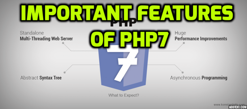 What Is New Features And Update In PHP7